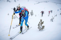 The third stage of the Ski Mountaineering World Cup 2019 at Le Dévoluy: Individual, Matteo Eydallin