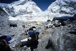 Campo Base Everest versante Sud