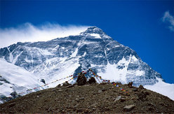 L'Everest dal Campo Base Nord (Tibet)