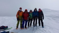 Antartide: in cima a Mt. Parry