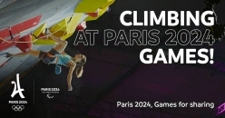 Paris 2024 has proposed to add Sport Climbing to the Olympic Games Paris 2024