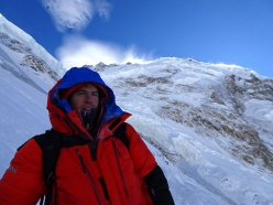 Tom Ballard at Nanga Parbat in winter