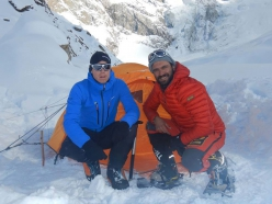 Tom Ballard and Daniele Nardi at Nanga Parbat in winter. There has been no news from Daniele Nardi and Tom Ballard since Sunday 24 February when the two were above 6000 meters on the Mummery Rib.