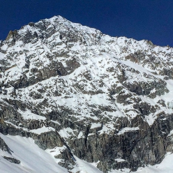 The East Face of Dent Blanche in Switzerland skied by Paul Bonhomme