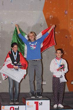 Alexandra Ladurner campiomessa del mondo Junior a Edimburgo 2010