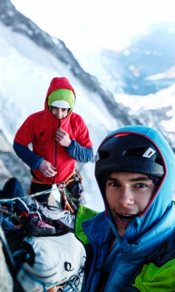 Divine Providence, Mont Blanc: Xavier Cailhol and Symon Welfringer