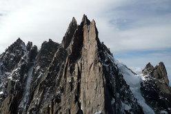 Sulla Cresta des Aiguilles de Chamonix