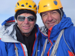 British mountaineers Mick Fowler and Paul Ramsden