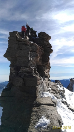 The summit of Gran Paradiso