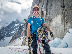 Alastair McDowell, pronto per King Cobra su Mount Barrill, Alaska