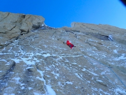 Denali Alaska: Bru Busom and Marc Toralles climbing the Slovak Direct route