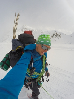 Ecuadorian - Swiss mountain guide Karl Egloff