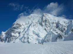 At 6190m in height, Denali is the highest mountain in North America