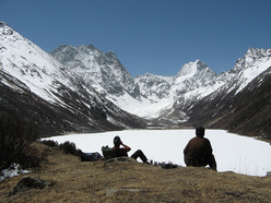 Little Silli Lake, Manam valley and unclimbed 6000m peaks.
