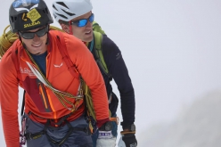 François Cazzanelli and Andreas Steindl climbing the Peutérey Integral in 12 hours and 12 minutes