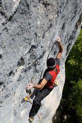 Manolo on Stramonio - Val Noana (Primiero, Dolomites)