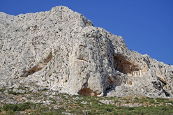Rock climbing at ET, Kalymnos