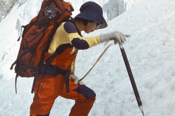 Junko Tabei, first woman to summit Everest on 16 May 1975