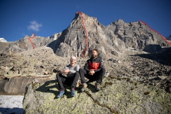Iker Pou and Eneko Pou in the Bapsa Valley, Indian Himalaya and the lines of their three new climbs