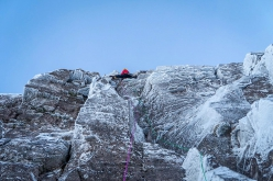 The winter climbing in Scotland season 2019/20 has begun in earnest with the first ascent of Local Hero by Greg Boswell and Guy Robertson at An Teallach.