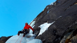 Ice climbing Cogne: Daddy cool in Valnontey