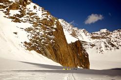 Mount Kyzyl Asker, Kyrgyzstan.