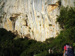 "Parete ""Amor de Mi Vida"", M.te Ginnircu, Sardegna"