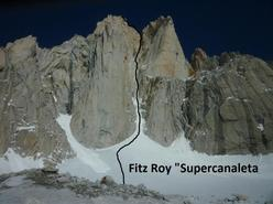 Fitz Roy, Supercanaleta