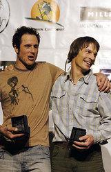 Vince Anderson e Steve House al Piolet d'or 2005
