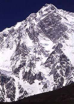 Il versante Rupal del Nanga Parbat