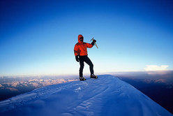 In cima al Nanga Parbat.