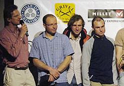Christian Trommsdorf, Patrick Wagnon, Yannick Graziani al Piolet d'or 2005
