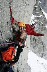 XV Piolet d'or Cerro Murallon, Stefan Glowacz, Robert Jasper