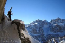 Freeride in Alta Badia, Dolomiti