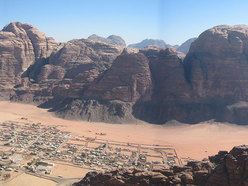 Wadi Rum main view