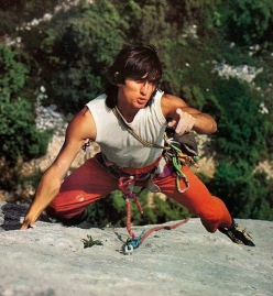 Il fortissimo climber ed alpinista francese Patrick Berhault