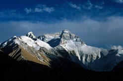 Everest from the north.