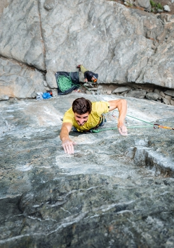Marco Zanone a Gressoney libera The Last Dance 8c+/9a