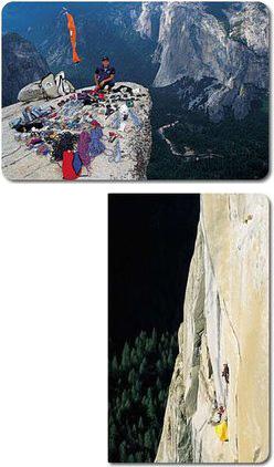 Tomaz Humar in Yosemite
