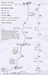 Testa o Croce, Monte Cimo - Settore Scoglio dei Ciclopi