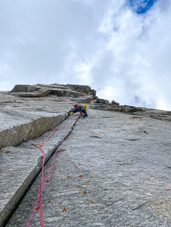 Stefano Perrone on the best pitch of From Hell to Paradise, Vallone del Piantonetto by Hervé Barmasse and Stefano Perrone