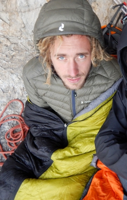 David Leduc, un alpinista belga in Dolomiti