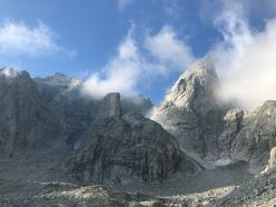 Punta Ferrario in Val Torrone - Val Masino
