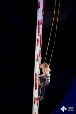 European Speed Climbing Championships, Moscow 2020
