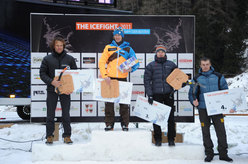 Podio maschile IceFight 2011