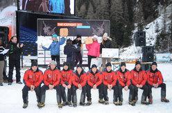 Podio Femminile IceFight 2011