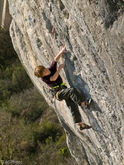 Tito Traversa climbing