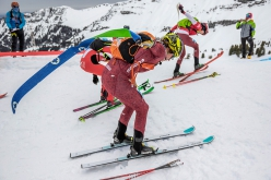 Ski Mountaineering World Cup 2020/2021 at Flaine in France