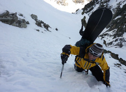 Petit Mont Blanc, ENE Face