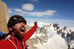 Sean Villanueva and the magical Moonwalk Traverse of Fitz Roy skyline solo in Patagonia
